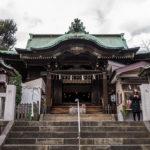 五反田の氷川神社で商売繁盛のお参りをしてきた