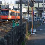 東急世田谷線の電車はカラフルな2両編成で萌え可愛い