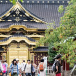 上野動物園の出口から徒歩1分!上野東照宮が渋くてカッコ良い