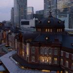 キッテの屋上庭園から東京駅を撮影!三脚禁止で明るい広角レンズが活躍