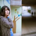 週末の五反田駅近辺で早朝ポートレート撮影