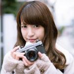 フィルムカメラを片手に神楽坂で路地裏ポートレート撮影
