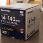 LUMIX G VARIO 14-140mm F3.5-5.6 ASPH. POWER O.I.S.を購入
