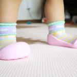 11ヶ月で歩き始めた娘!初めての靴も購入