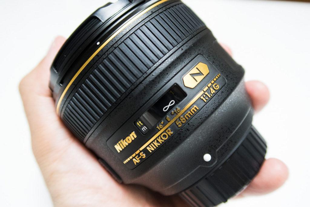 ニコン58mm