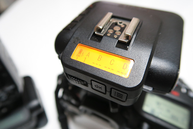 ワイヤレスフラッシュトランシーバーCactus V6