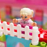 レゴ デュプロのピンクのコンテナデラックスを娘にプレゼント