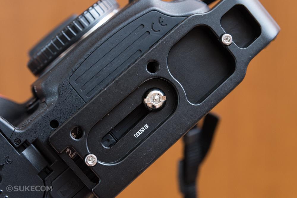 L型プレートを購入!三脚使用時の縦位置撮影が安定感倍増