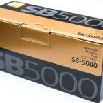 ニコンのスピードライトSB-5000購入!連続発光に強いフラッグシップモデル