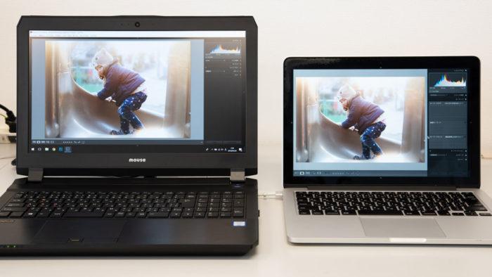 DAIVとMacの比較