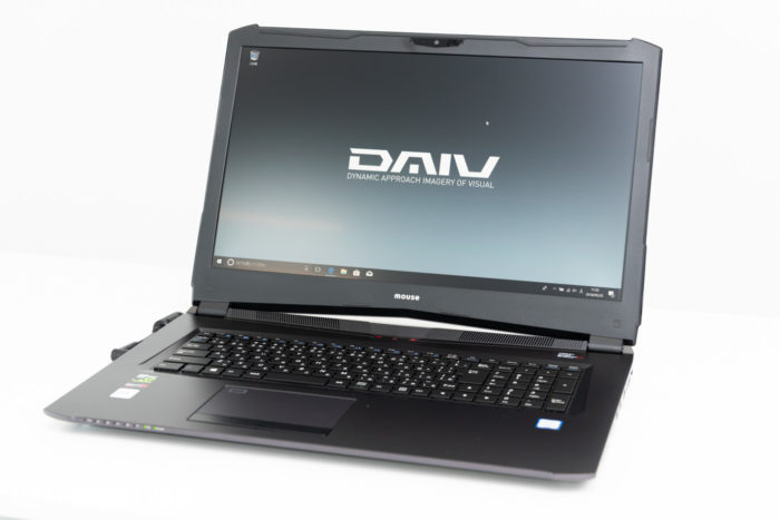 DAIVのノートパソコン