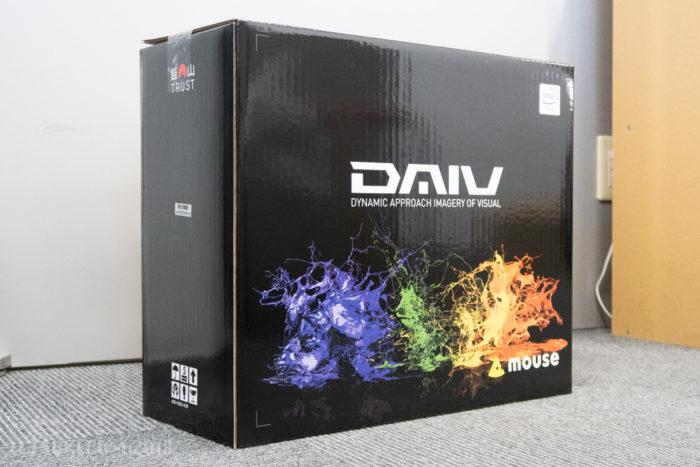 DAIV-NG7620M1-M2SH5-RAWの外箱