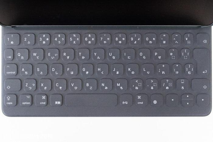スマートキーボードの配列