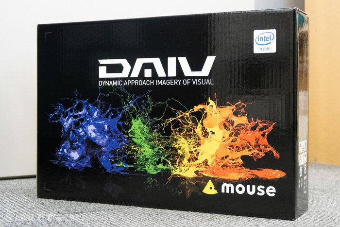 DAIV-NG5500シリーズの外箱