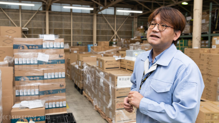 工場長の松本さん
