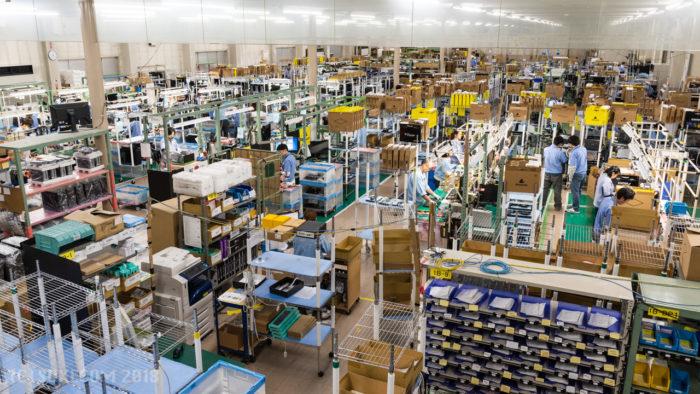 飯山工場の内部