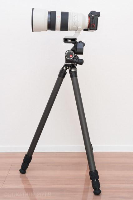 望遠レンズの使用例