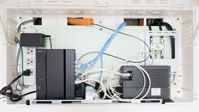 情報ボックスの収納例