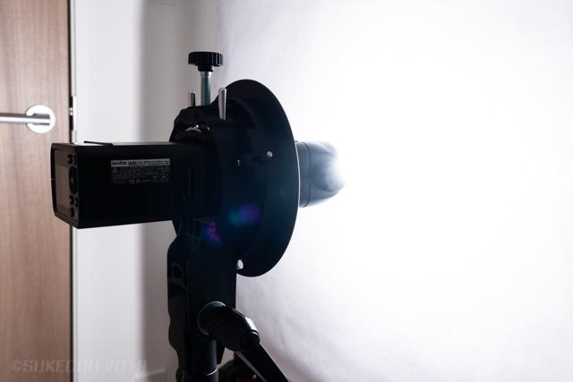 近距離発光の例