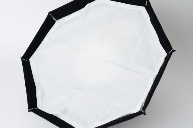 白い布を装着